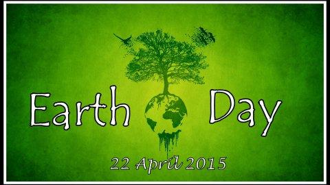 L'Earth Day 2015 si celebrera' il 22 aprile