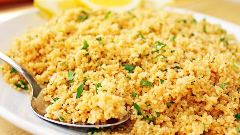 Cous cous all'hummus