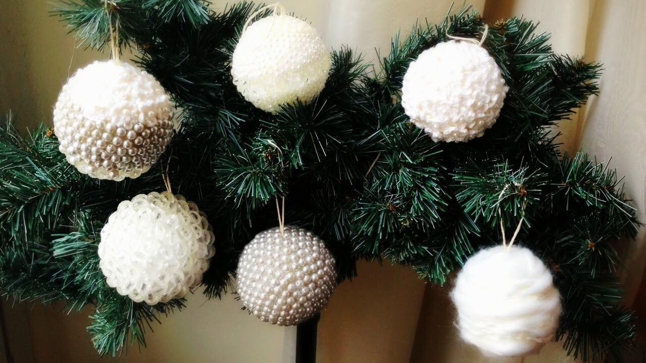Dieci idee per decorare l 39 albero di natale in maniera creativa for Palline natale fai da te