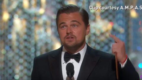 Leonardo DiCaprio, il Premio Oscar e il Riscaldamento Globale