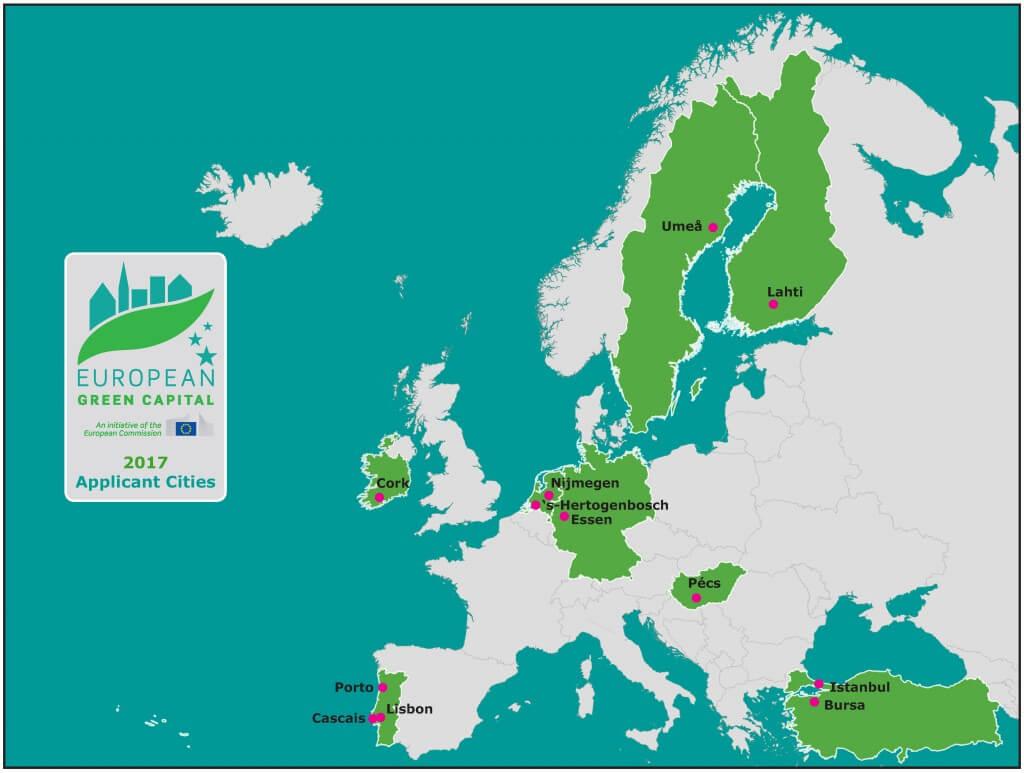 Capitali verdi europee, un ciclo di incontri sulla rigenerazione urbana