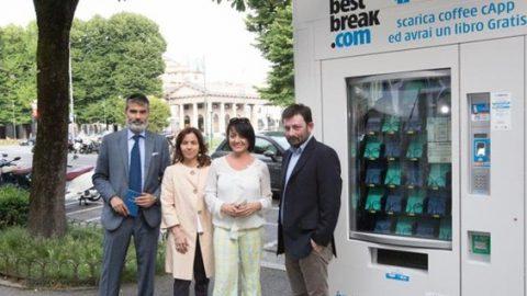 Bergamo, arriva il distributore automatico di libri