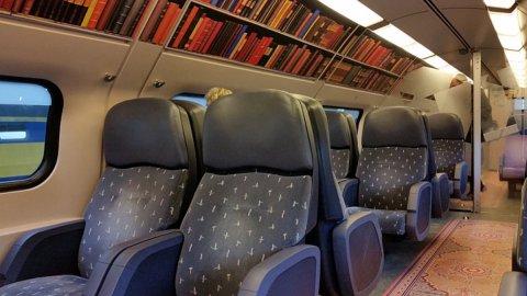 Il Vagone Biblioteca debutta in Olanda