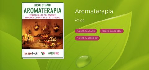 Aromaterapia, un ebook firmato Greenpink