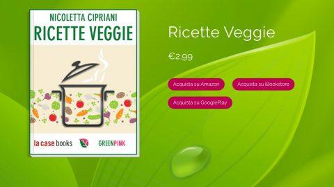 Ricette Veggie, un ebook firmato Greenpink