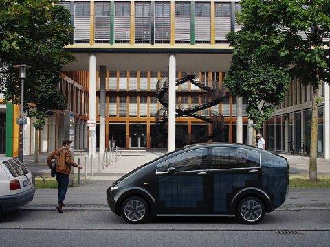 Sion, la prima auto solare di serie al mondo