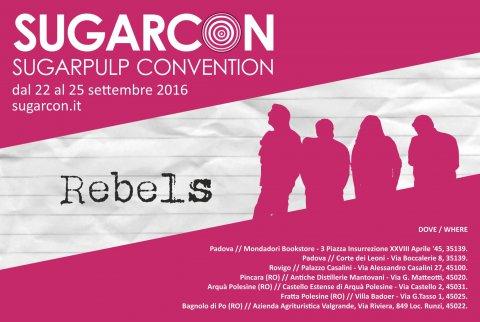 Autori ed autrici ribelli, torna la Sugarpulp Convention