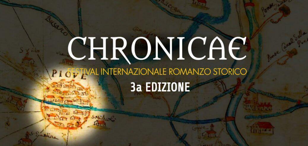 Chronicae 2017, Festival Internazionale del Romanzo Storico. A Piove di Sacco (Pd) dal 6 al 9 aprile la 3a edizione del festival organizzato da Sugarpulp.