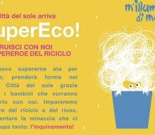 SuperEco, il supereroe che insegna ai bambini il rispetto dell'ambiente