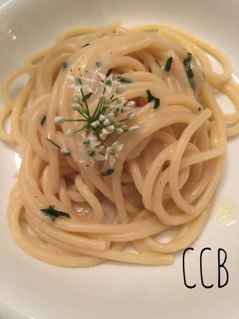 Spaghettoni con aglio ursino