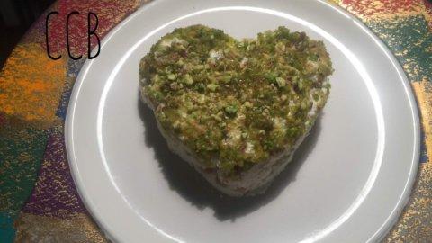 S. Valentino: un cuore di formaggio e pere