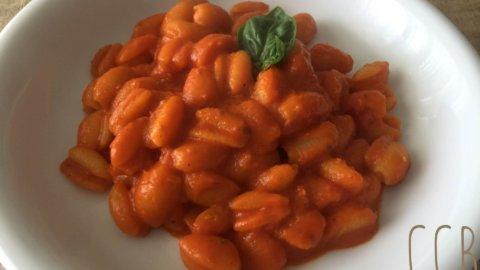 Gnocchetti sardi in crema di pomodoro