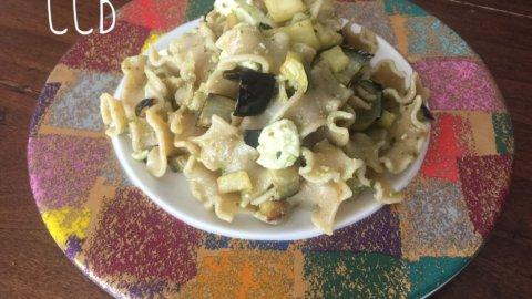 Mafalde gluten-free alle melanzane