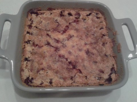 CLAFOUTIS ALL'UVA FRAGOLA