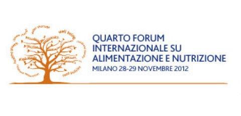 Quarto Forum Internazionale su Alimentazione e Nutrizione