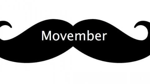 Movember, il mese con i baffi