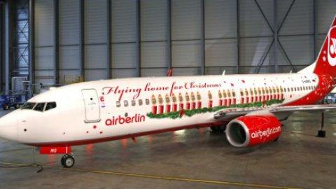 Livrea natalizia per Air Berlin