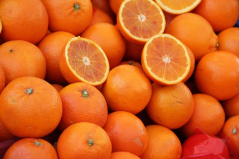 I tessuti vitaminici che derivano dagli scarti di arance