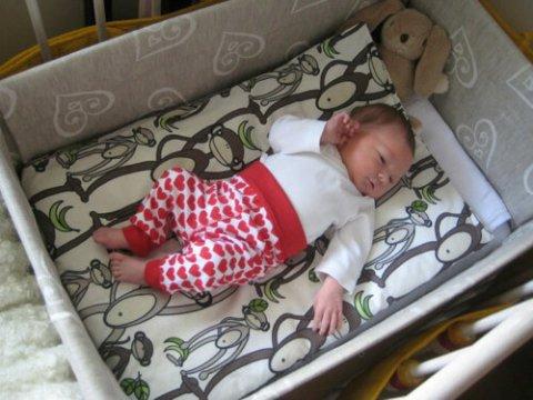 Dove dormono i neonati finlandesi