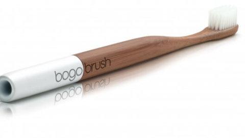 Il nuovo spazzolino completamente biodegradabile si chiama Bogobrush
