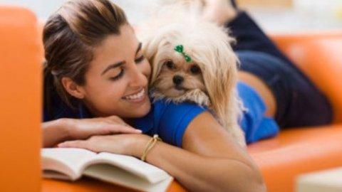 Donne che amano gli animali