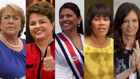 Le donne del Sudamerica
