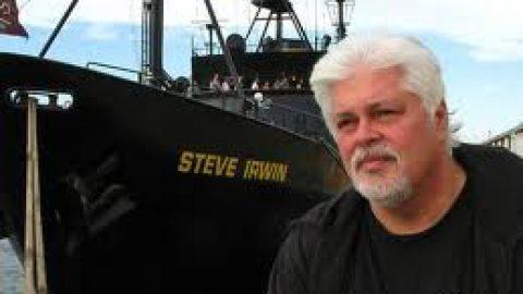 I Primi Australiani omaggiano il Capitano di Sea Shepherd